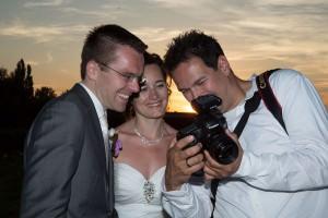 bruidsfotograaf Stefan Segers tijdens een trouwreportage