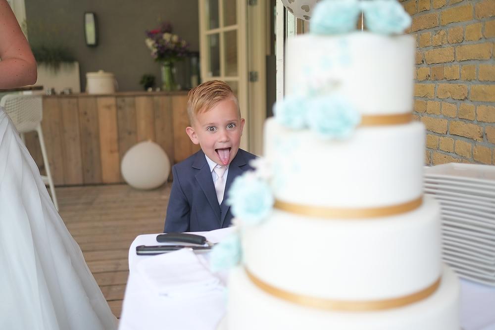 trouwshoot bruidsfotografie de bruidstaart