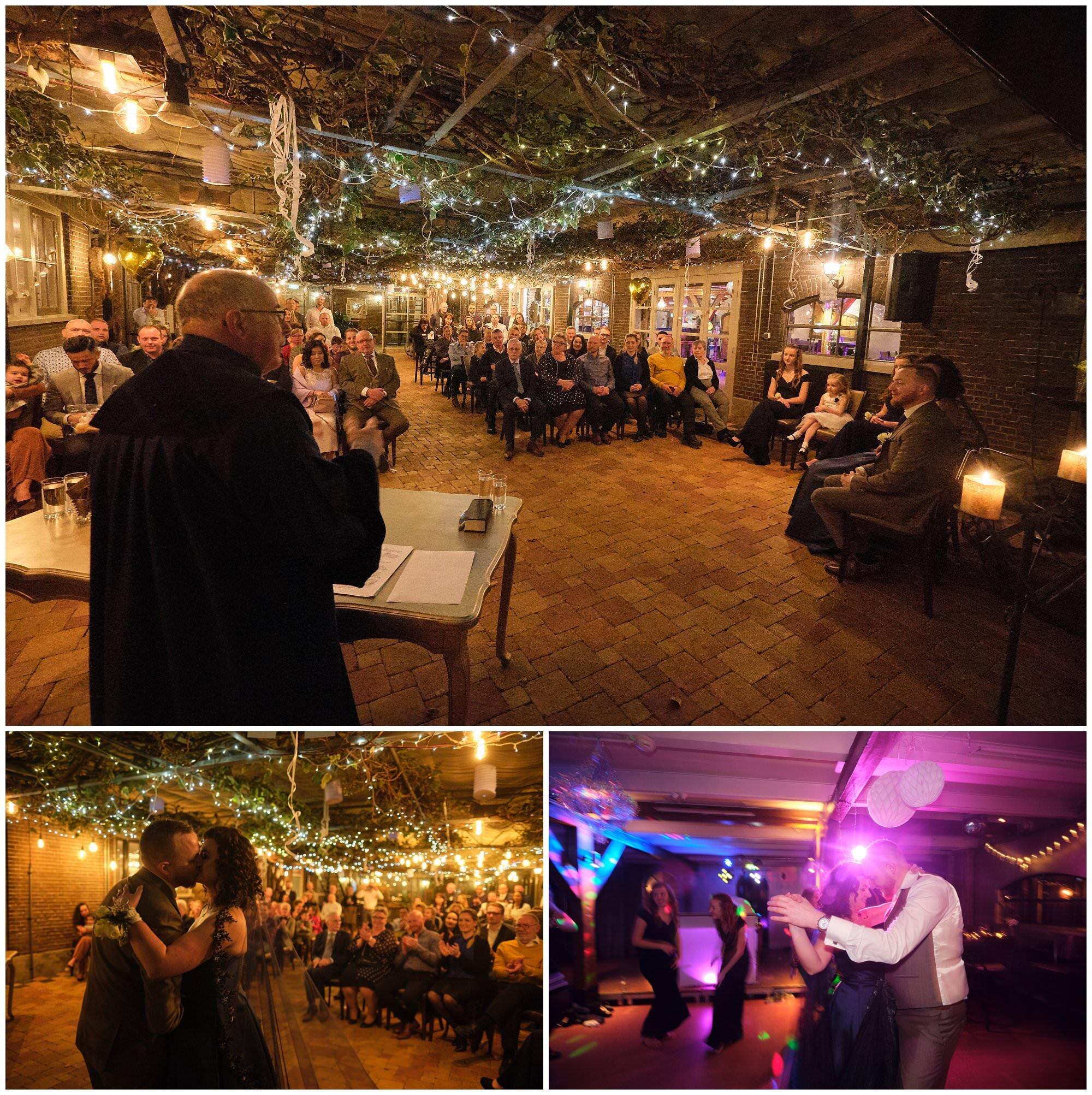 Maurice en Chantal - Winteravond bruidsreportage in Vlietzicht Rijswijk