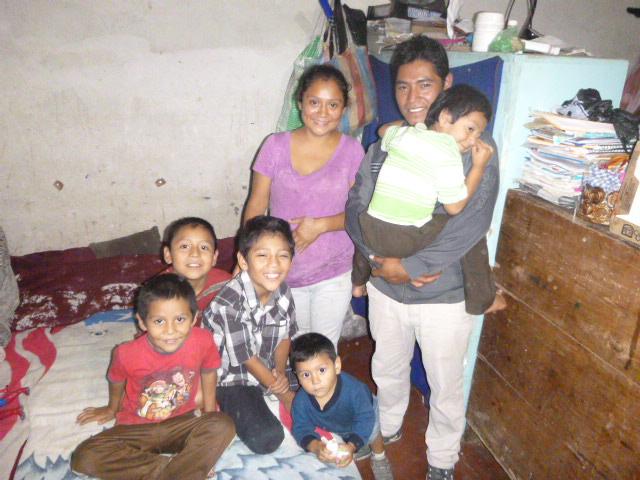 Ricardo and his family