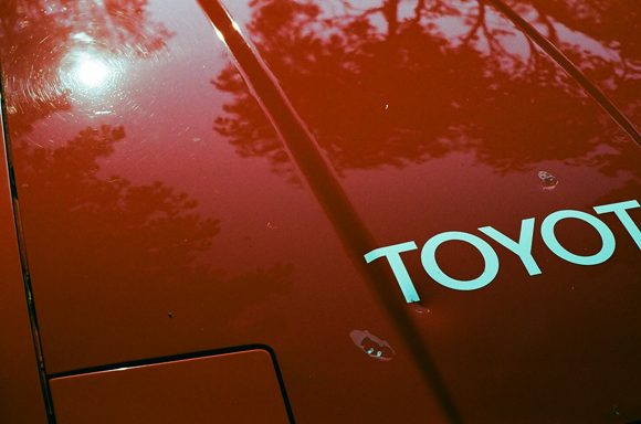 28.7.16 - RED TOYOTA