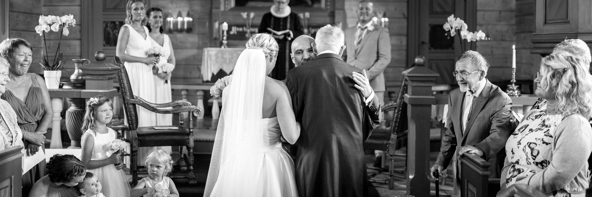 Wedding Ceremony Panorama