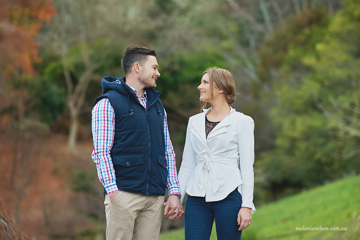 engagement photos adelaide hills