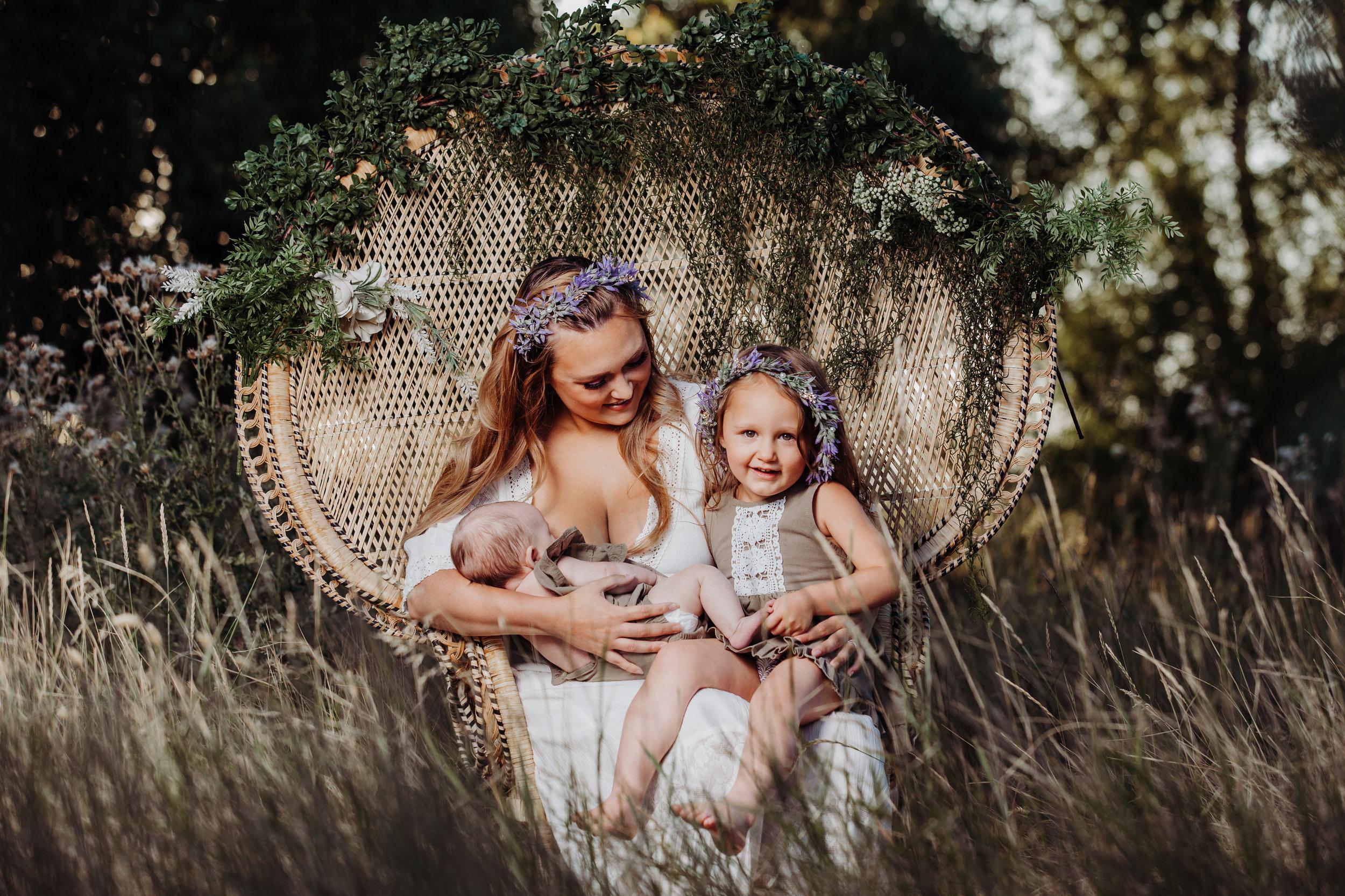 AM Photography LLC Breastfeeding Portrait Session 01