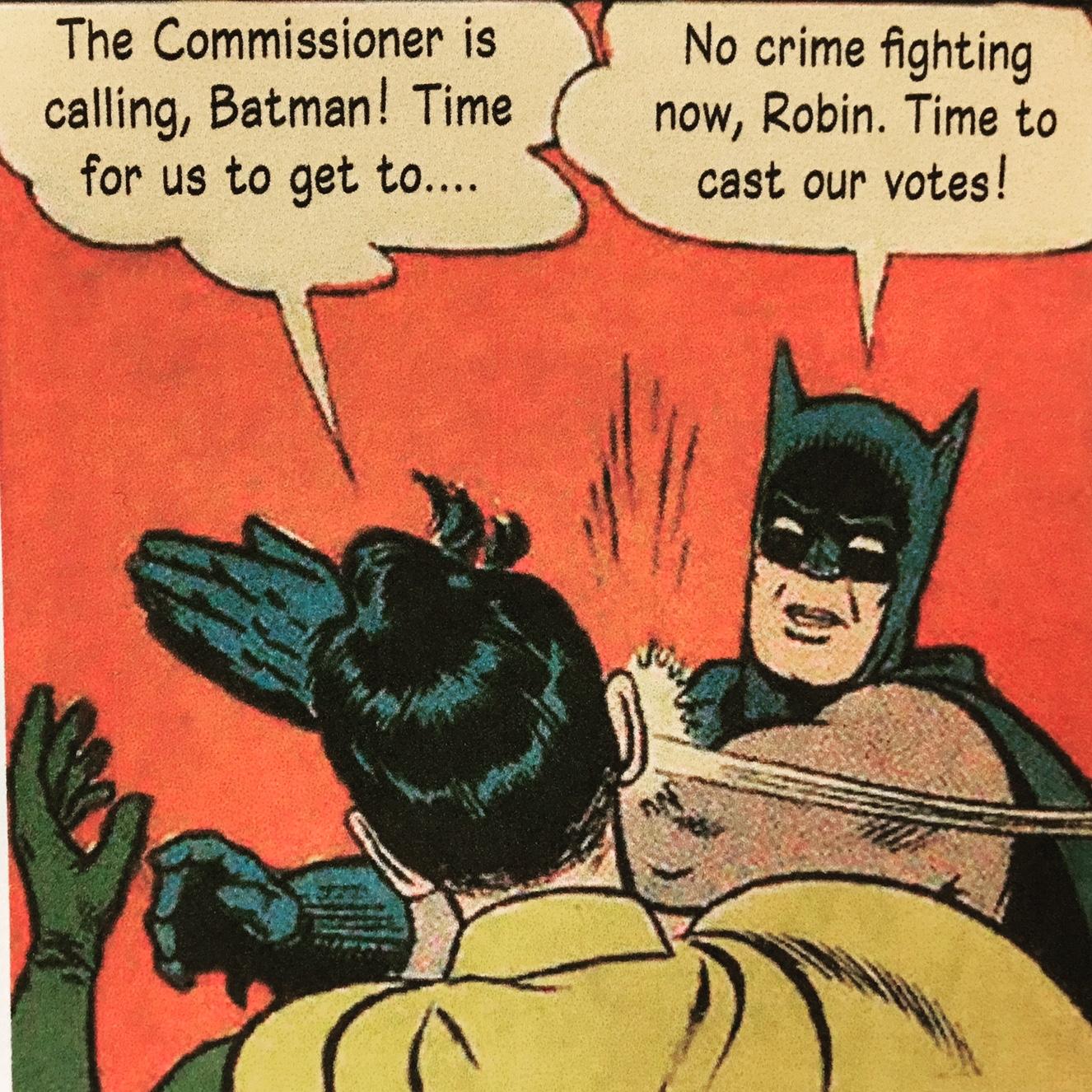 Even Batman is a Civic Superhero!