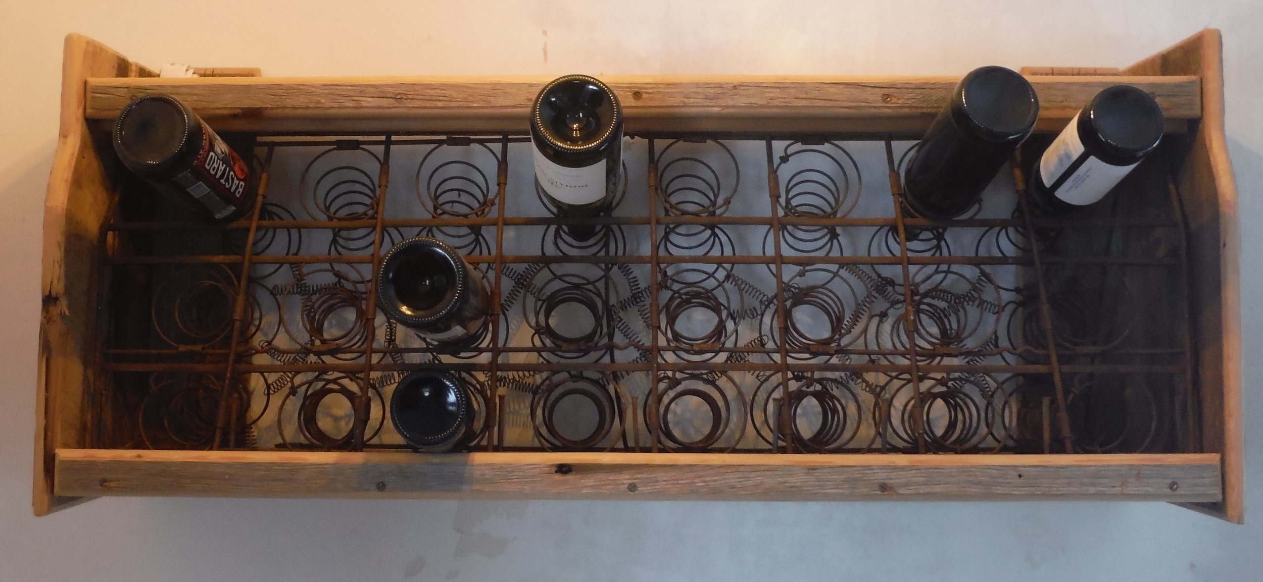 Rumble Seat Wine Rack