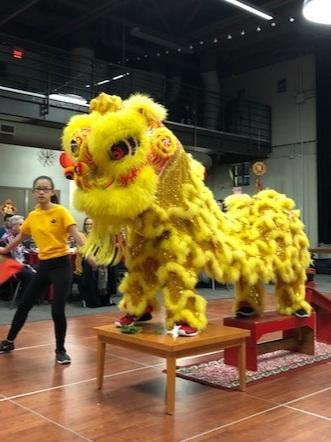 Lion Dance - Saturday, 3:00 PM