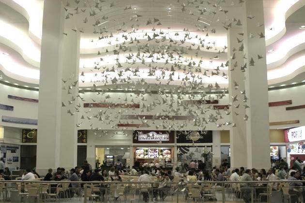 BIRDS IN FLIGHT, Los Molinos Mall, Medellin, Colombia
