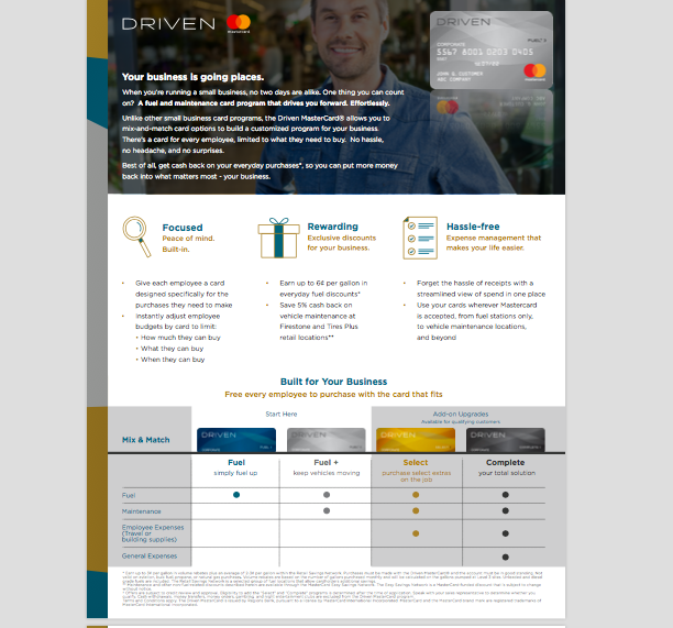 DESIGN - SALES COLLATERAL