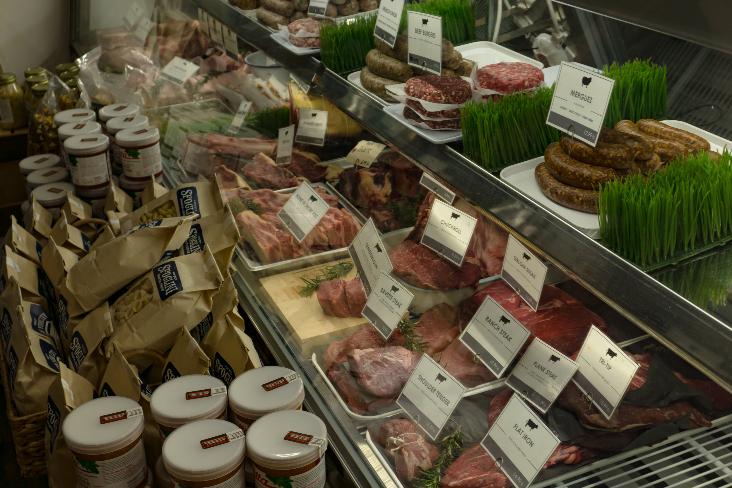 Rooster Street Butcher Display Case