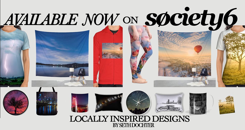 Seth Dochter - Society6 Banner