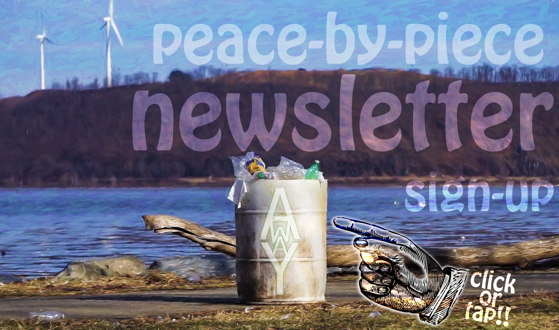 1421 - Peace by Piece Newsletter Banner
