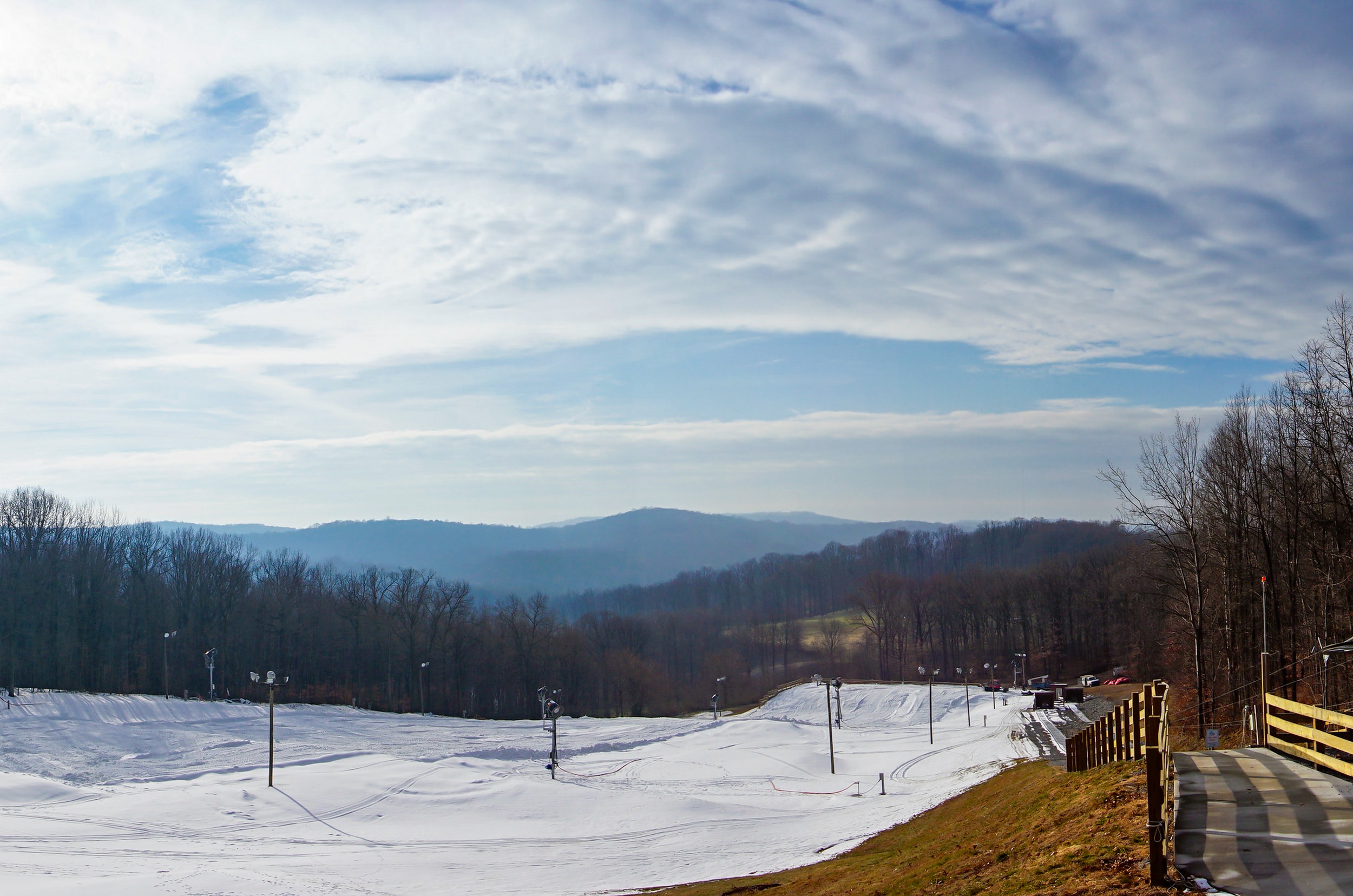 Iron Valley Tubing - The hills north east of Lancaster County are home to a fairly new winter attraction with a view.