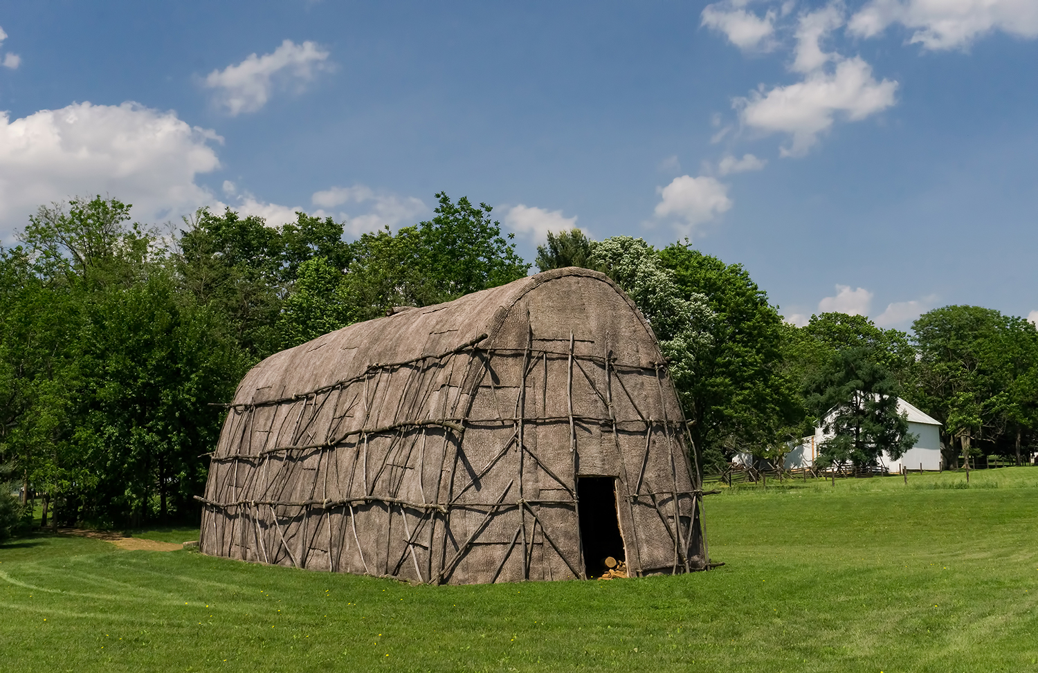 Learning About Native American History - Discover the Lancaster Longhouse, a full scale replica of Native Life before Lancaster County.