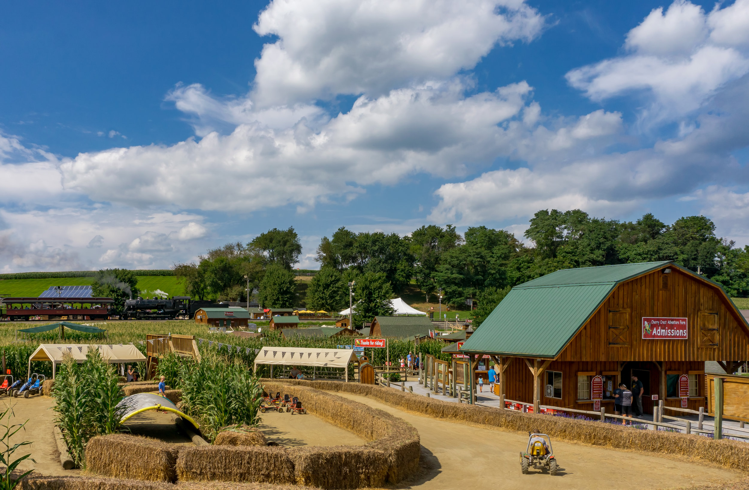 Cherry Crest Adventure Farm - Just in time for the harvest season. Come discover one of Lancaster County's favorite October Destinations.