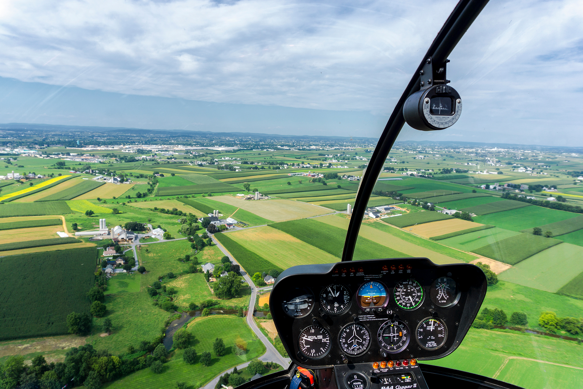 Smoketown Helicopters - Dash View Countryside