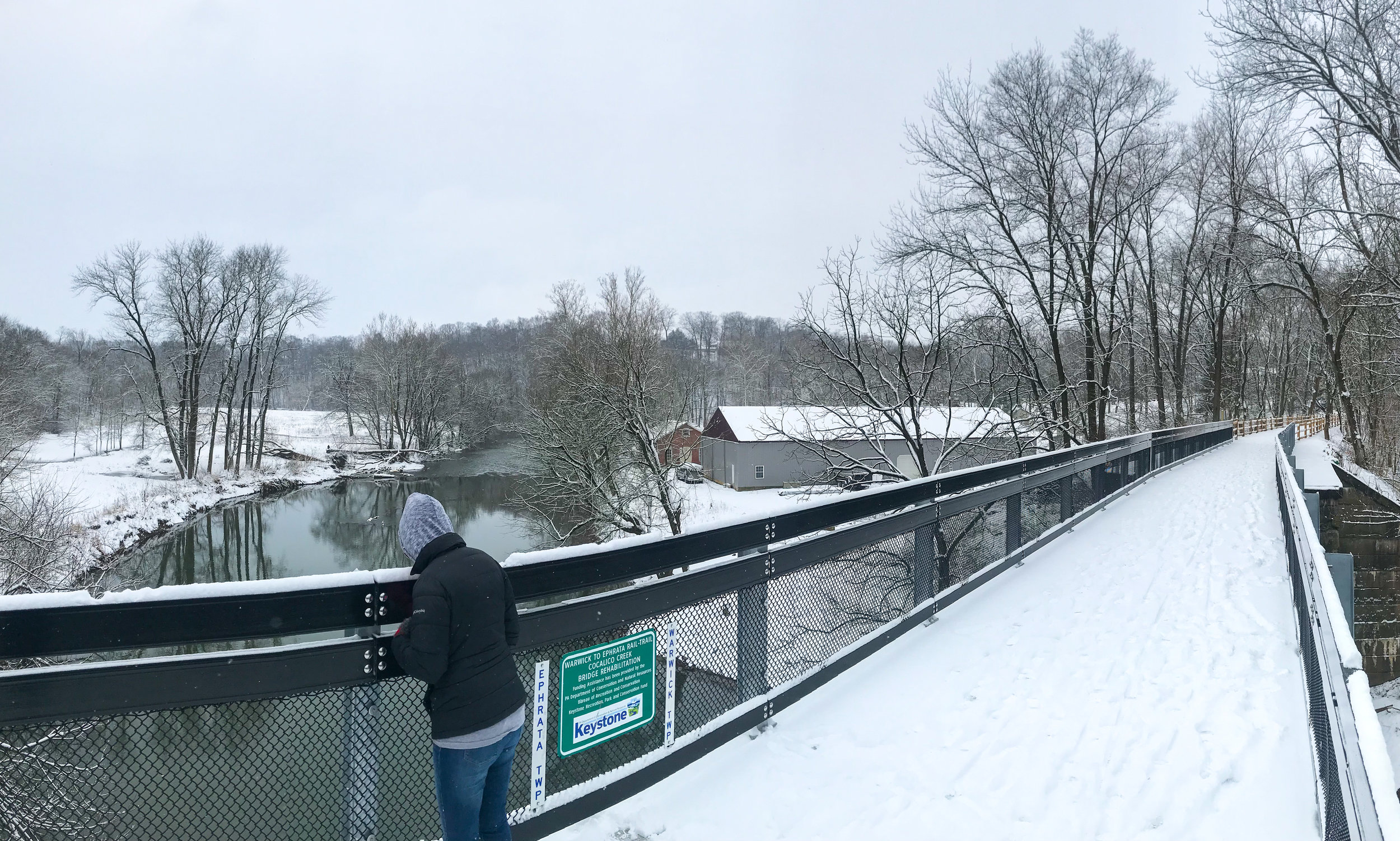 The Warwick to Ephrata Rail-Trail - A new year, a new bridge, and the best new route directly from Lititz to Ephrata.
