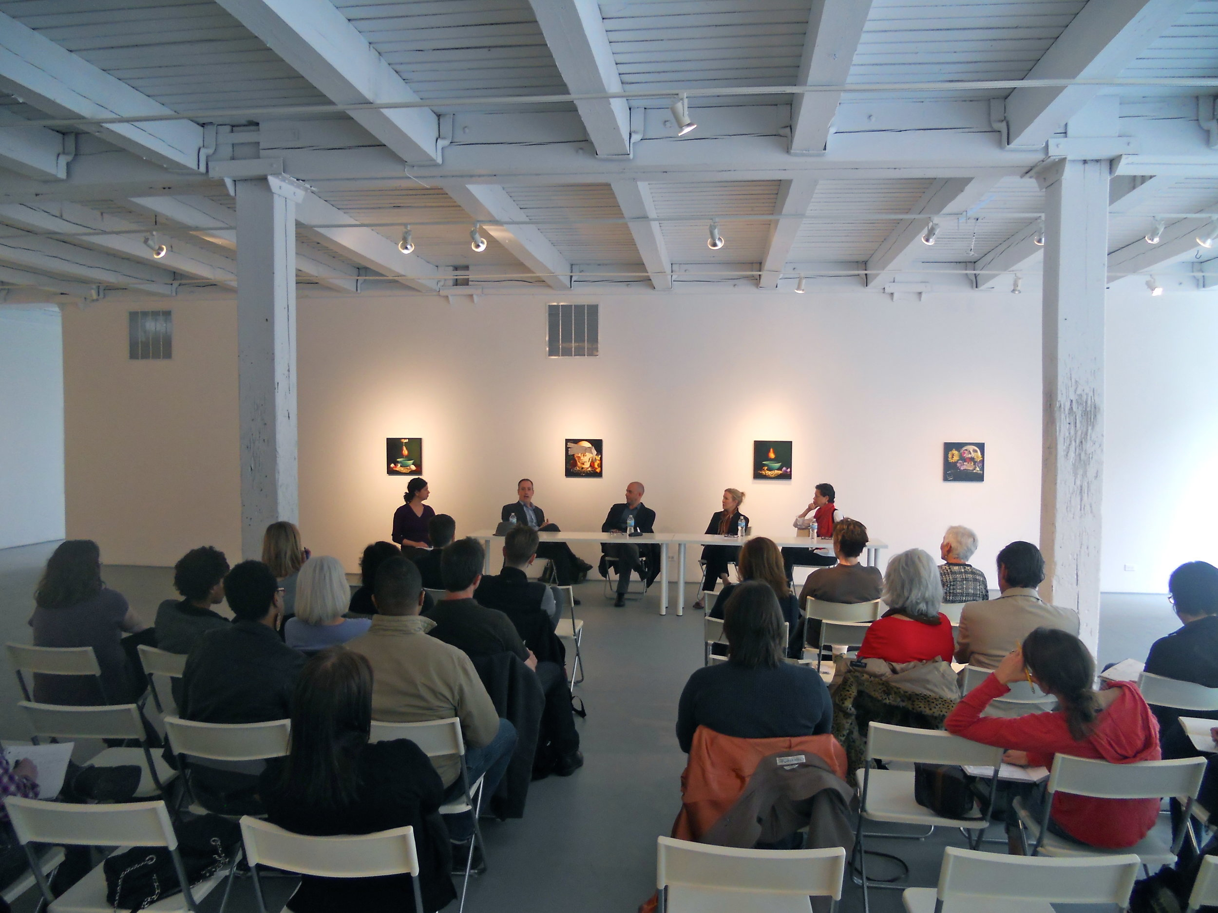 "Professional Development Workshop for Artists, ""Pricing Your Artwork"" at the Chicago Artists Coalition."