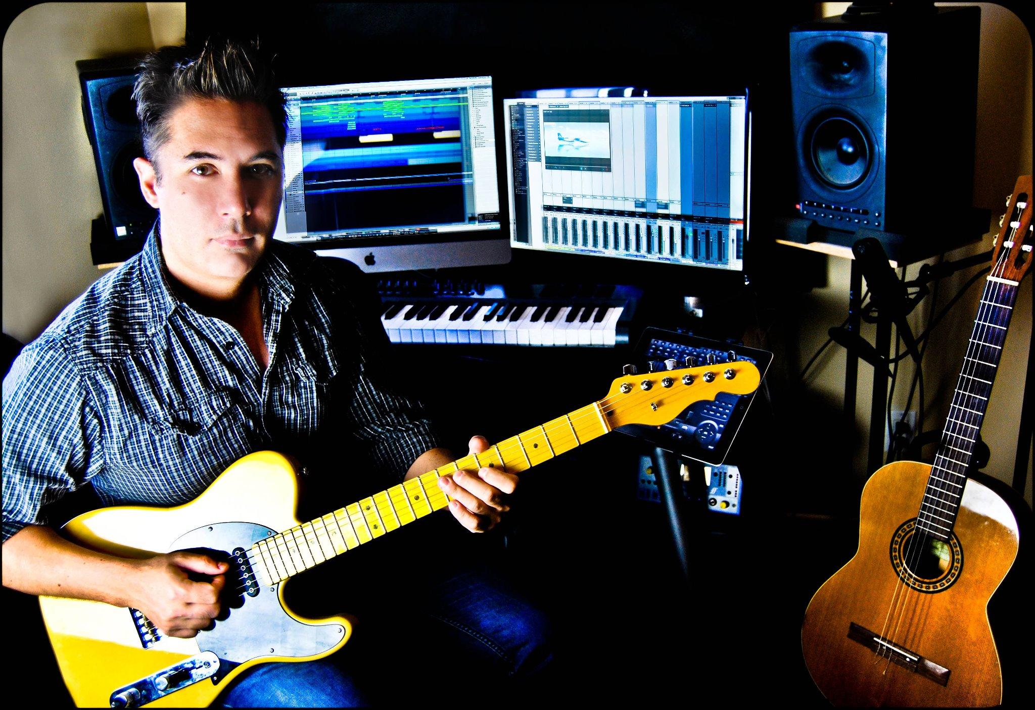 Composer Andrew Oye
