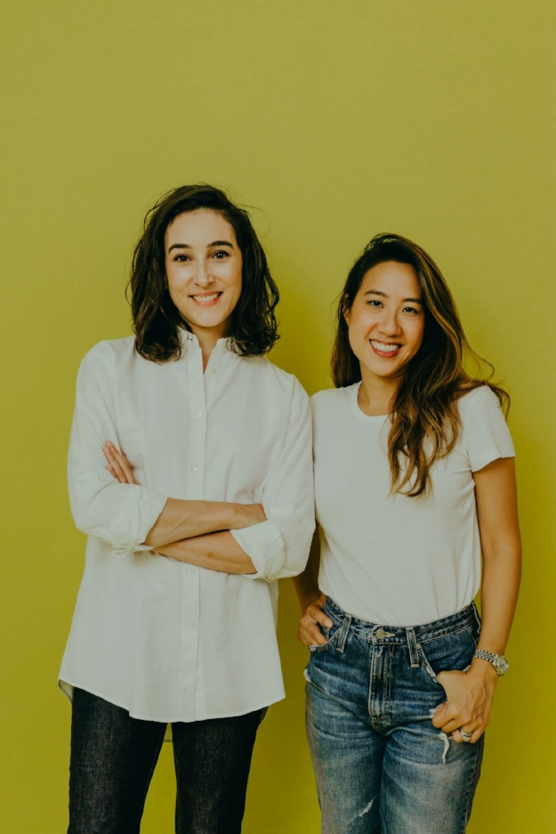 Laura Schubert and Co-founder Lillian Tung