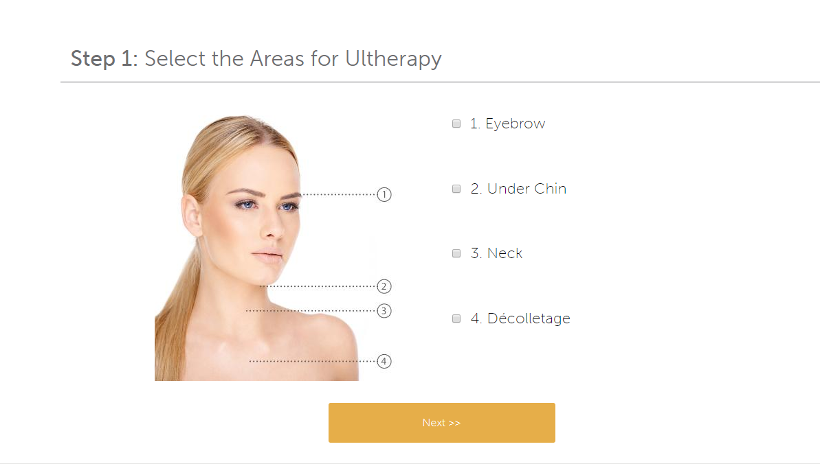 TRY IT ON! - Ultherapy now has a free simulation tool. Upload your picture and check out your potential results!