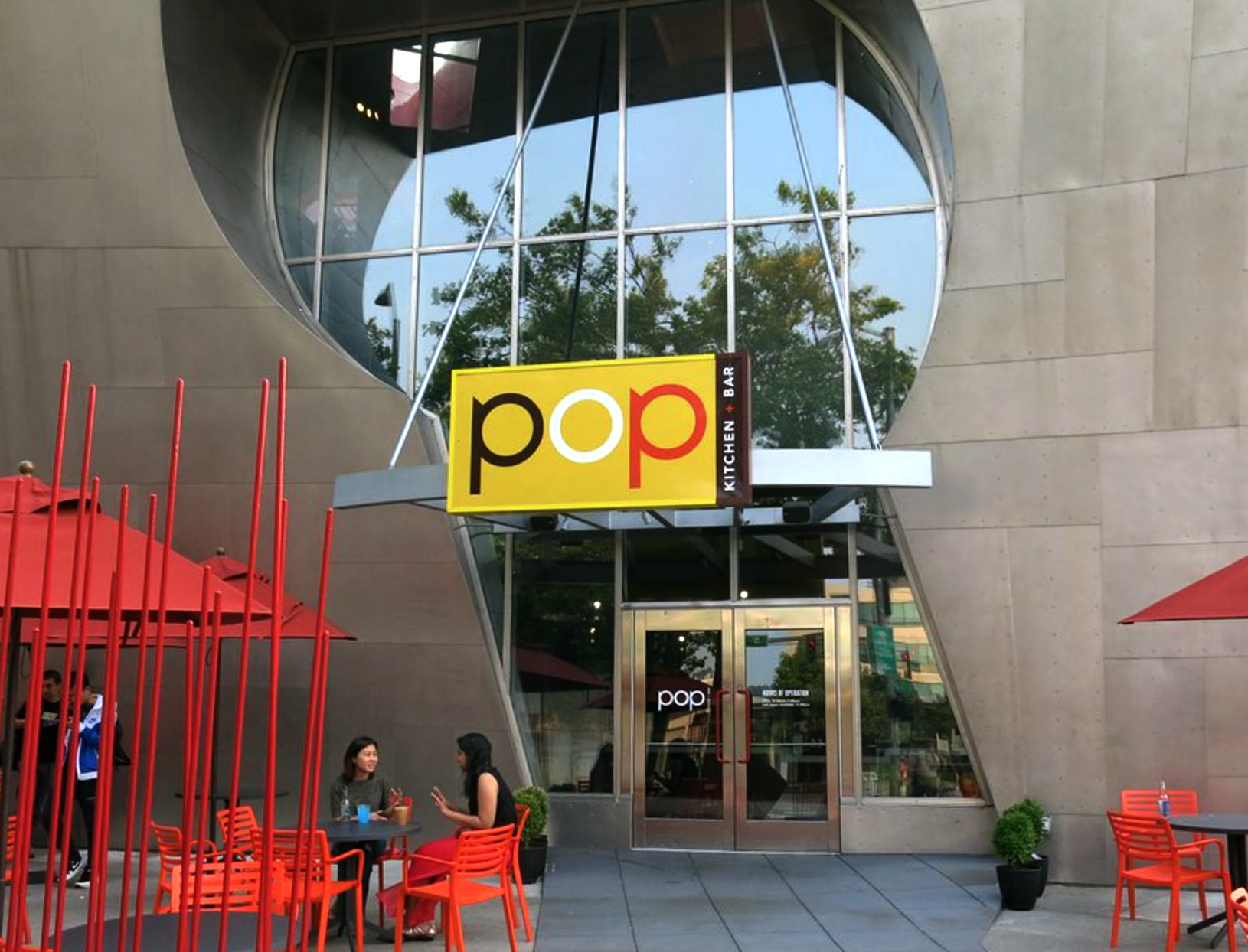 Pop Kitchen + Bar at the EMP | Brand Identity + Environmental Design Consulting