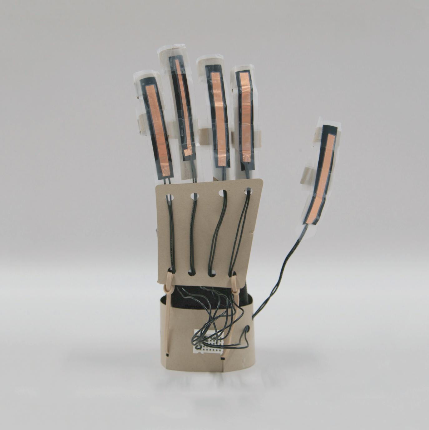 Sensorized Glove Design