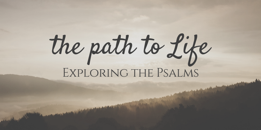 The Christian life is one full of diverse experiences and with that comes a diverse interaction with our pursuit of faithfulness to God. Walking the path to life, His path of righteousness, is pictured from a variety of angles in the Psalms and with these aspects we get a fuller guide to what it means to LIVE as people of God. So we now explore different Psalms considering the way our lives look different as a result of God's work in our hearts through the Gospel.