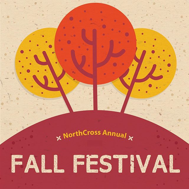 October 26, 5:00-7:00 pm! At Torrence Chapel Park, Cornelius! For everyone! Join us for lots of fun and a chili cook-off! Sign up at www.northcrosschurch.com/childrensministry.  #northcross