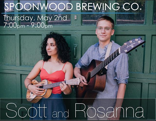 @spoonwoodbrewing this Thursday!!