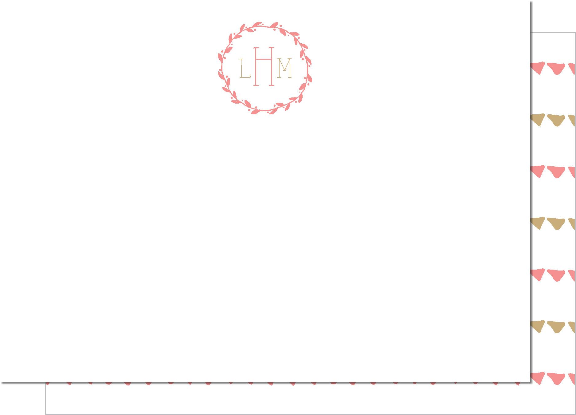 KD7137NC-PB Garland Monogram