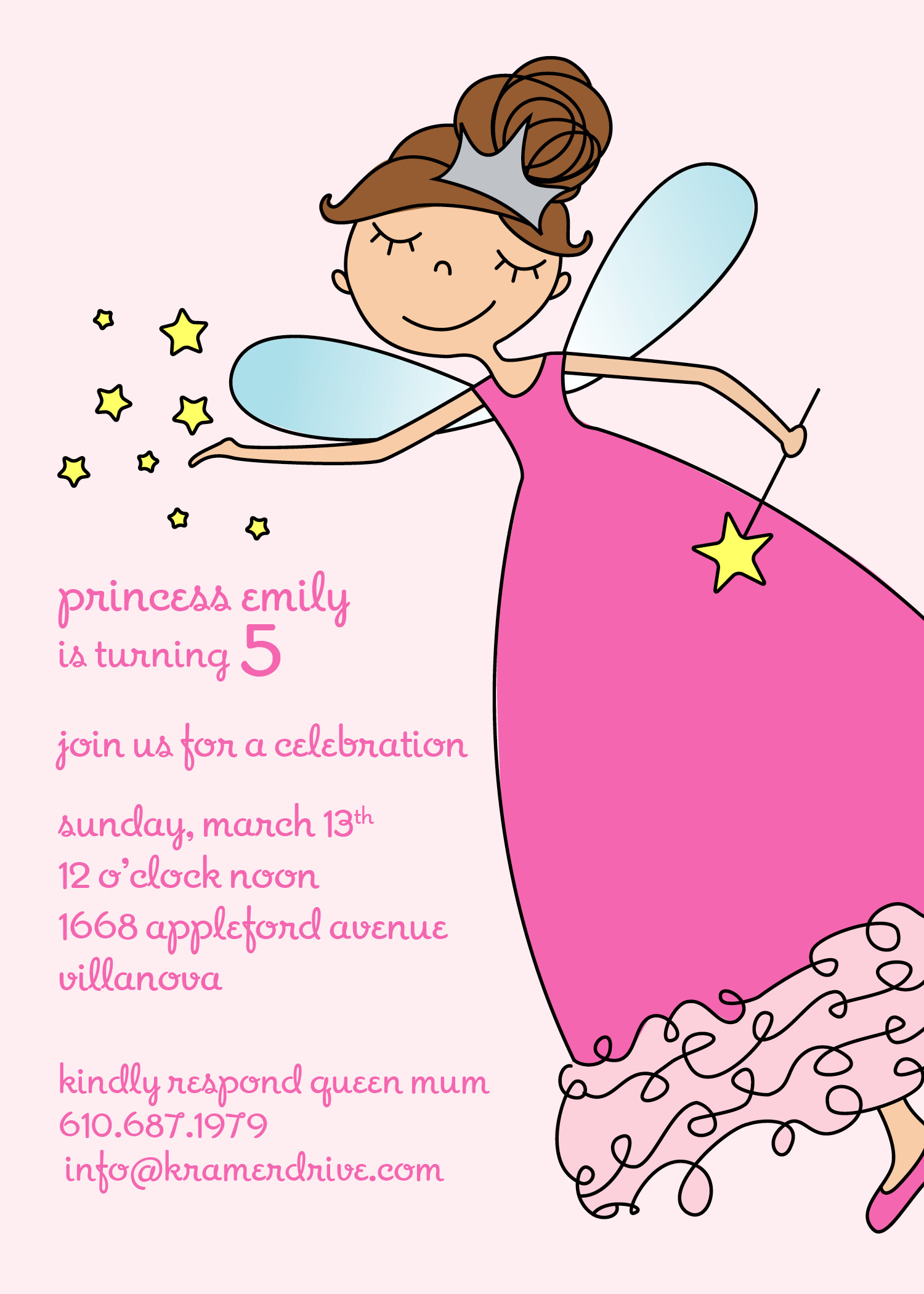 KD1037IN Fairy Princess