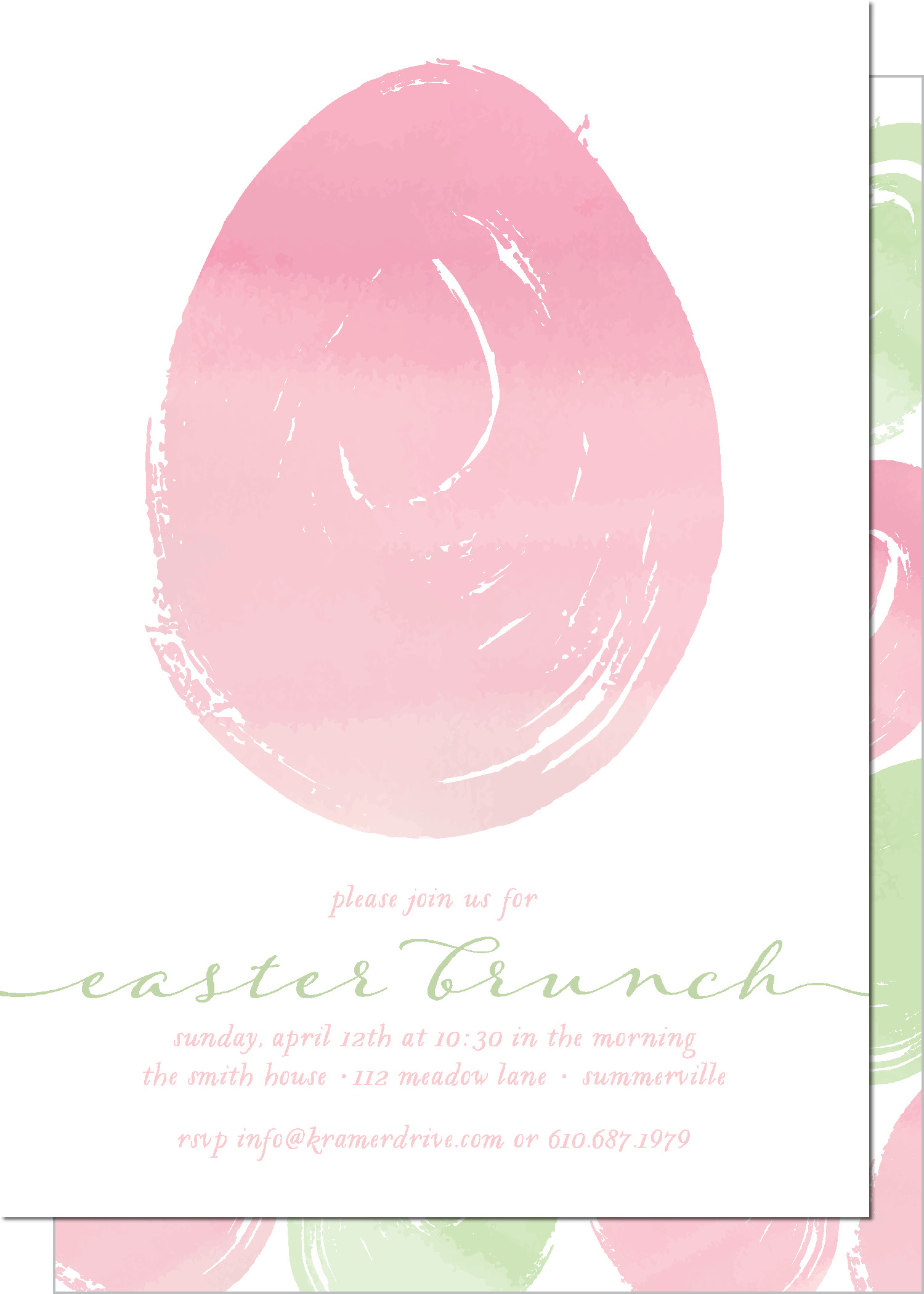 KD9084IN-PB Easter Egg Brunch
