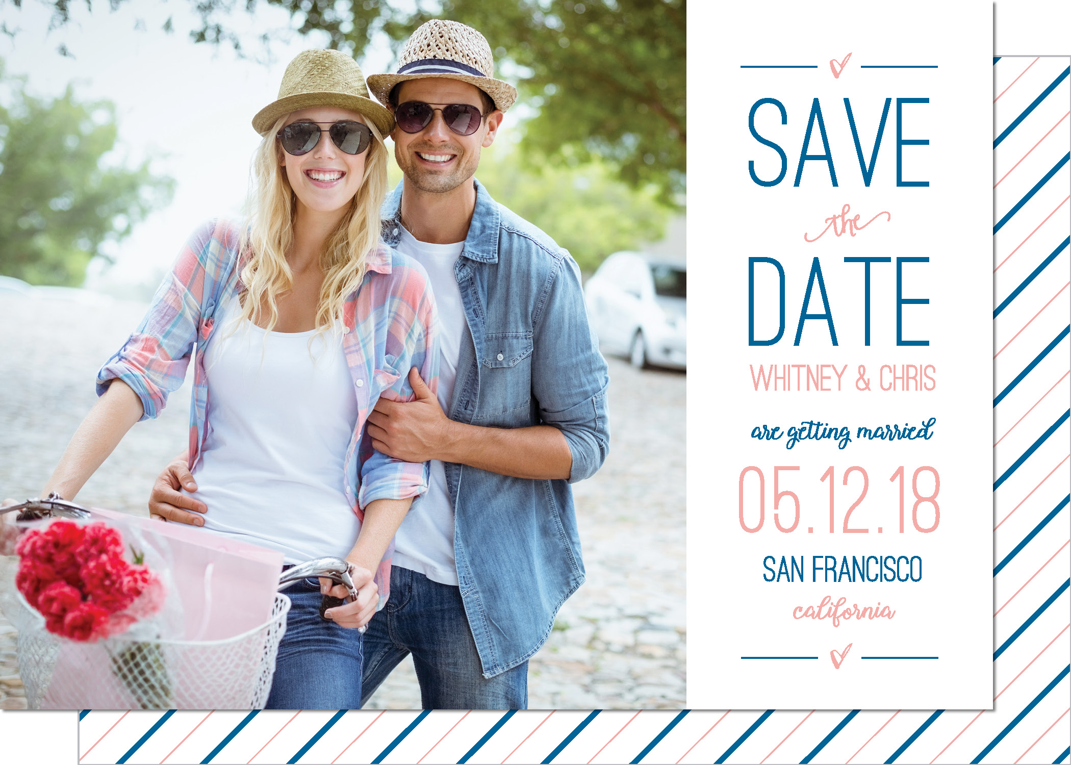 KD2130IN-PB Side Bar Save the Date