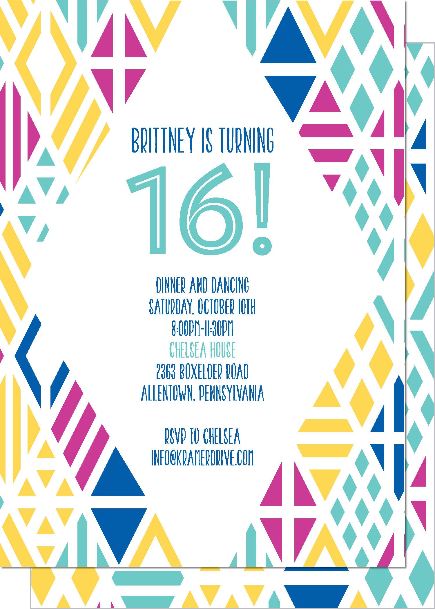 KD3121IN-PB Geometric Birthday