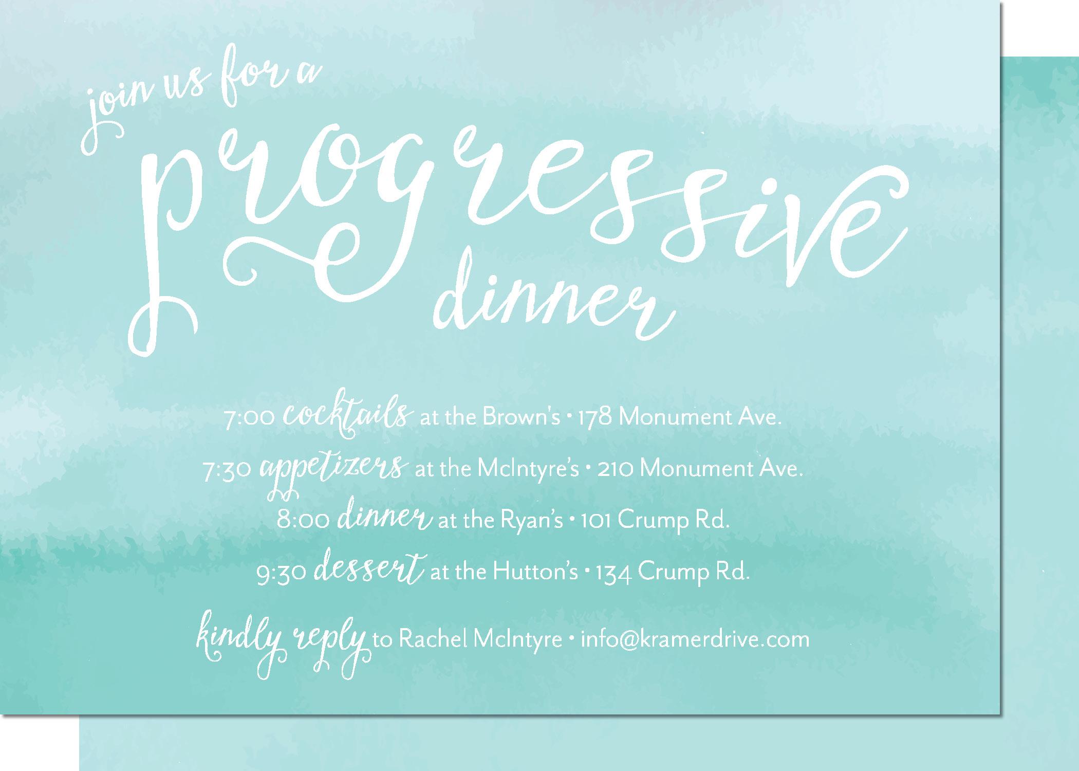 KD3142IN-PB Progressive Dinner