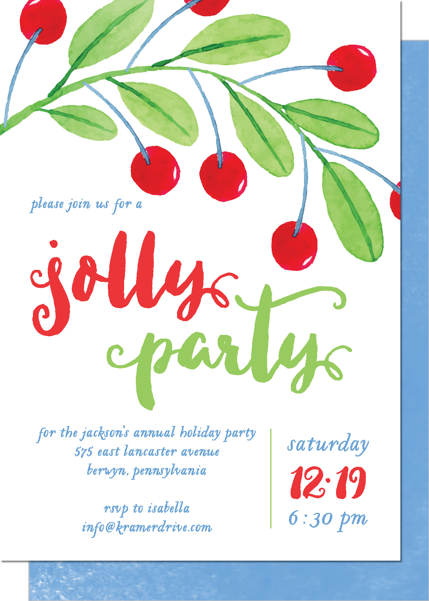 KD5209IN-PB Jolly Holly