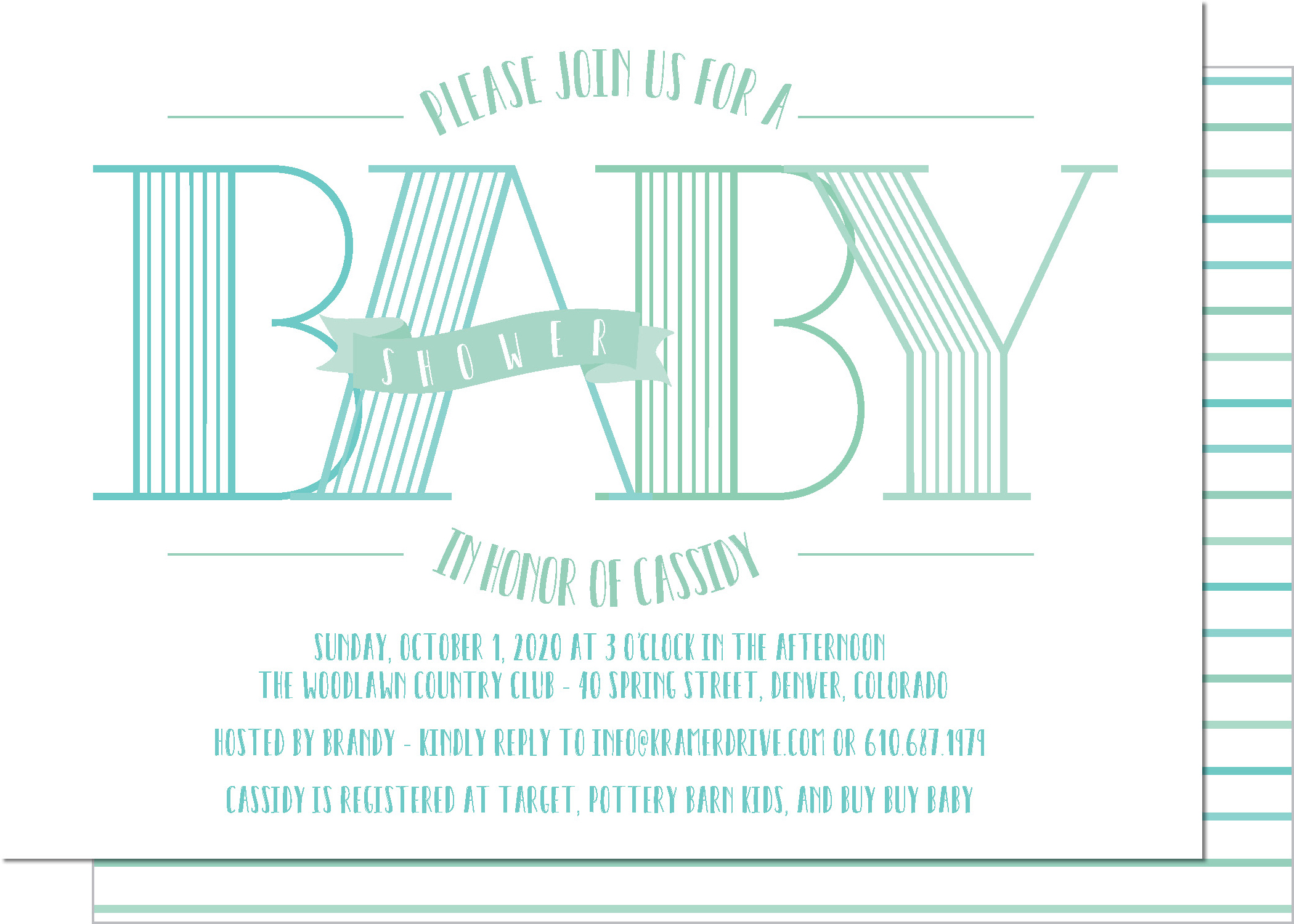KD4120IN-PB Baby Banner