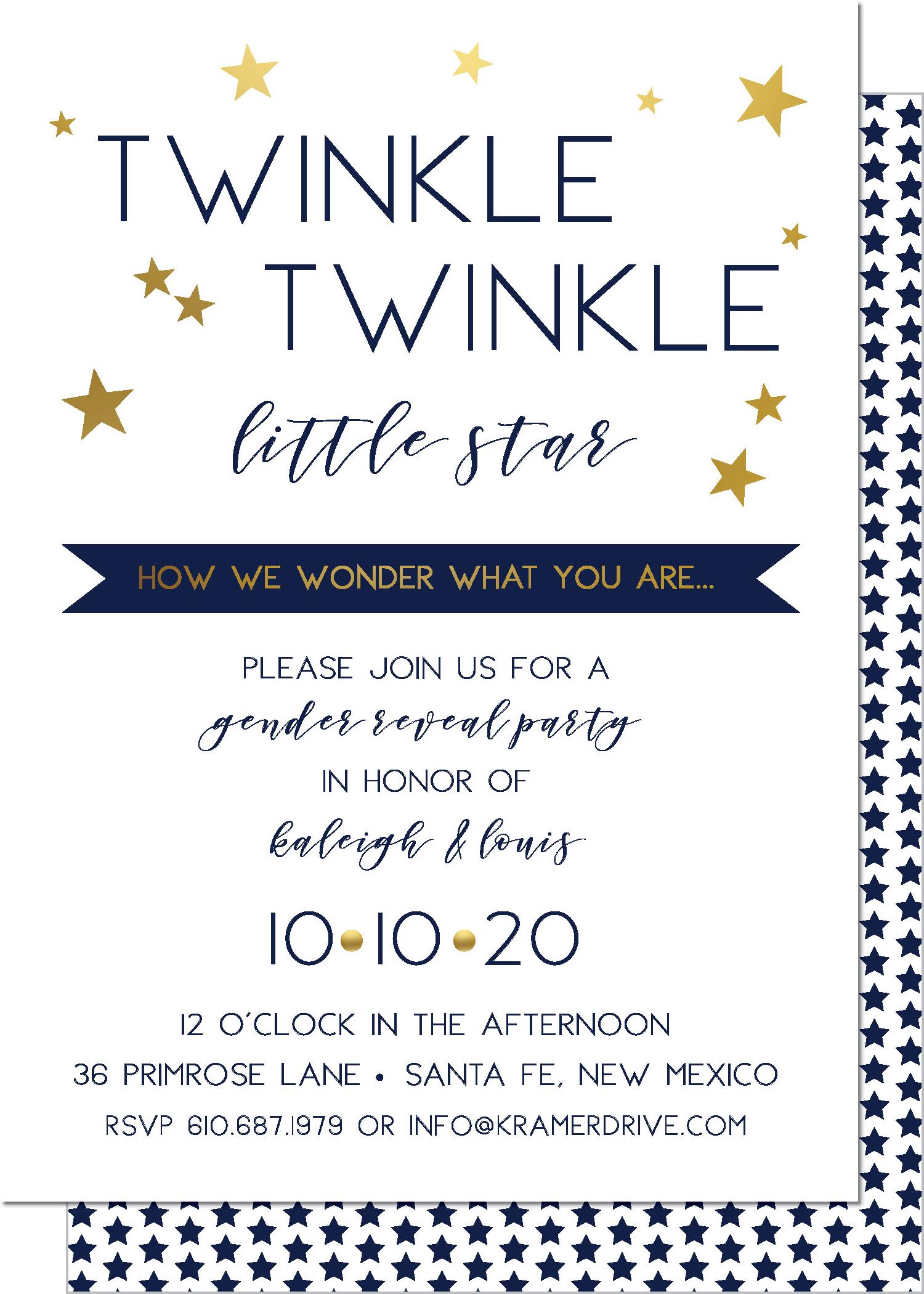 KD4128IN-PB Twinkle Twinkle
