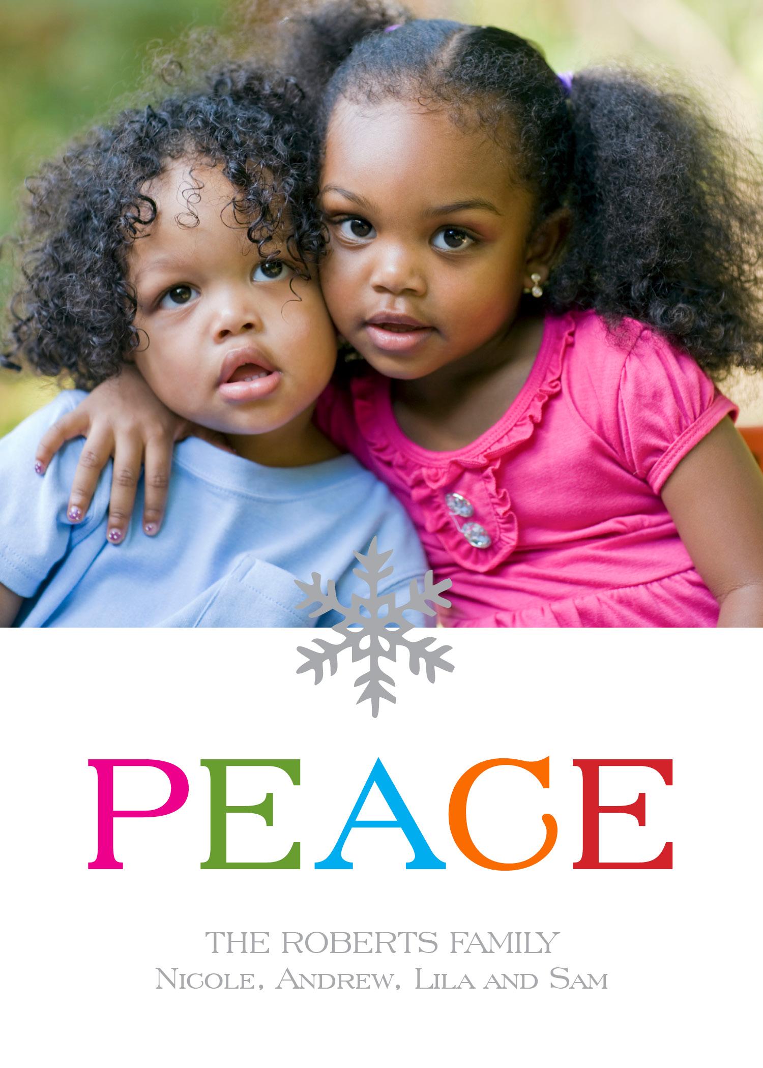 KD5002IN Bright Snowflake Peace