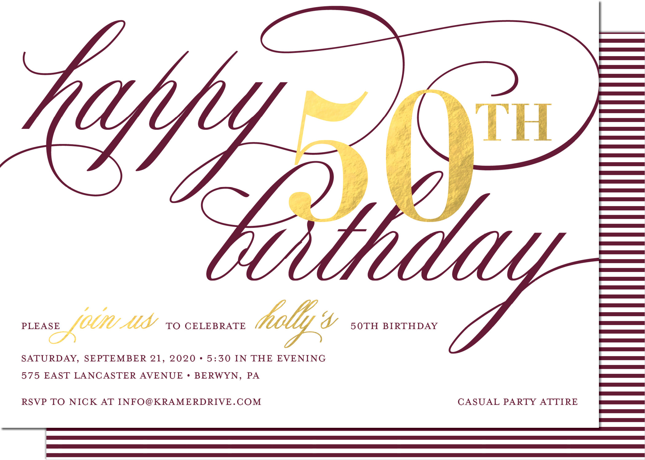 KD3188IN-PB Birthday Foil*