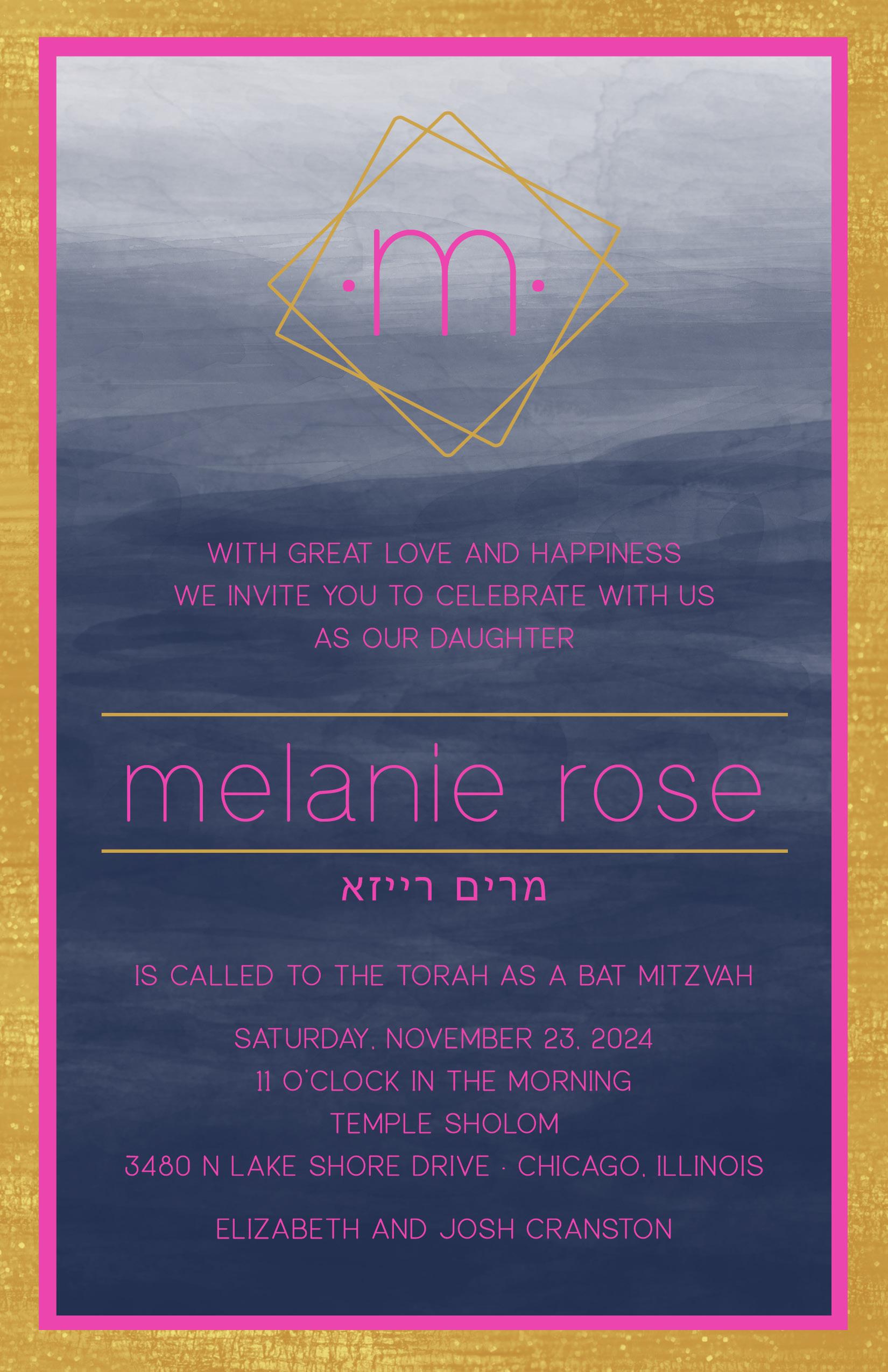 KDSM8216LIN-FOIL Melanie Rose