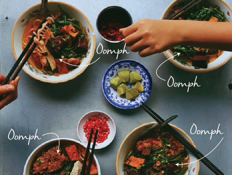 Oomph is Your healthy, tasty, meal-making partner!