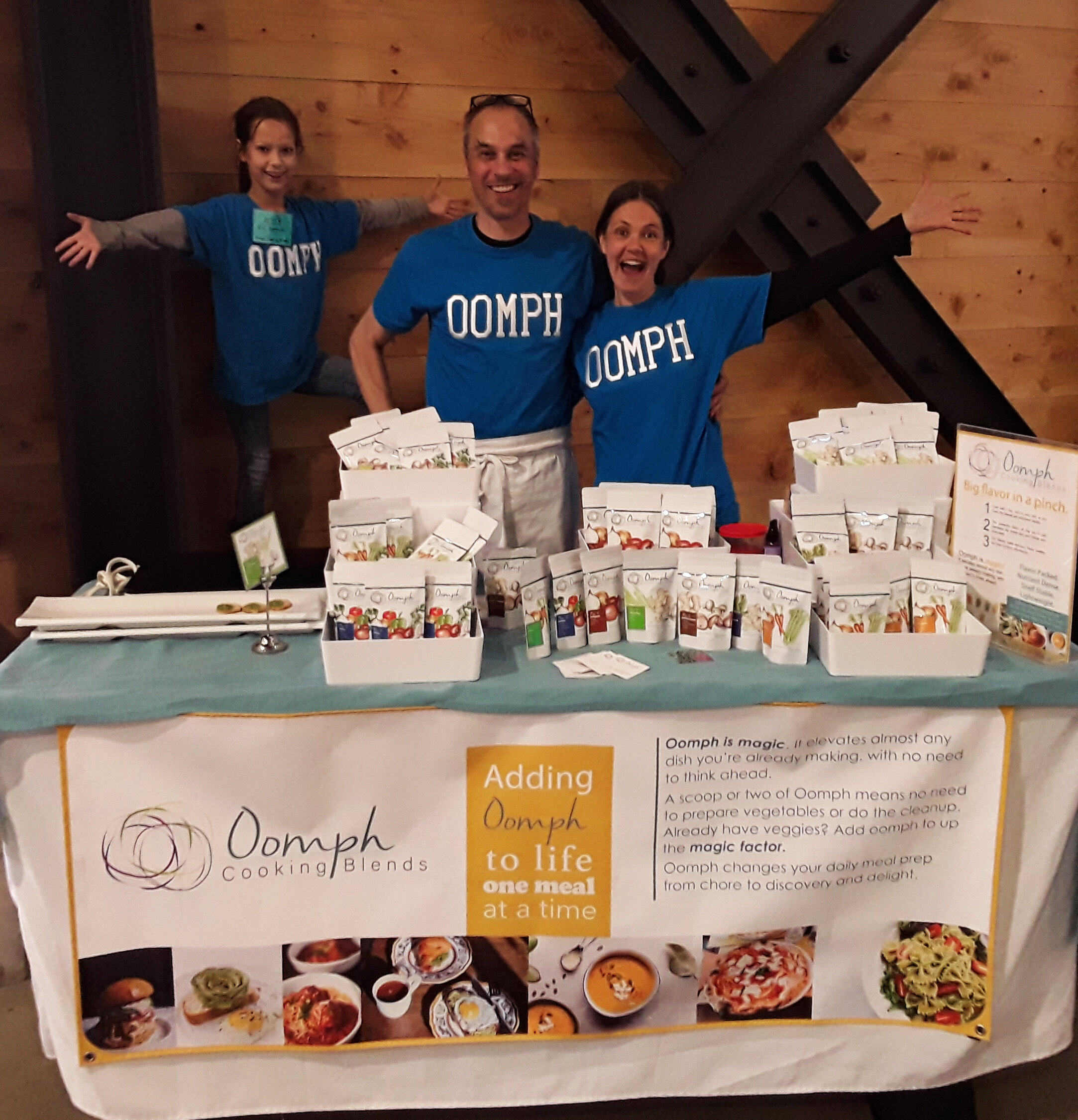Oomph at the OEN Angel Food Conference