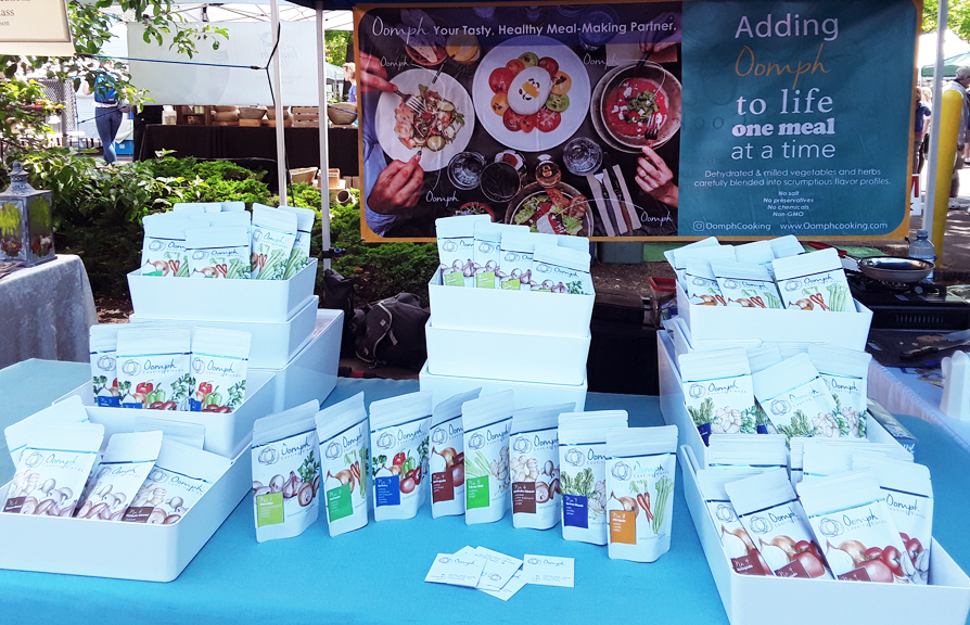Find Oomph at the Farmer's Market