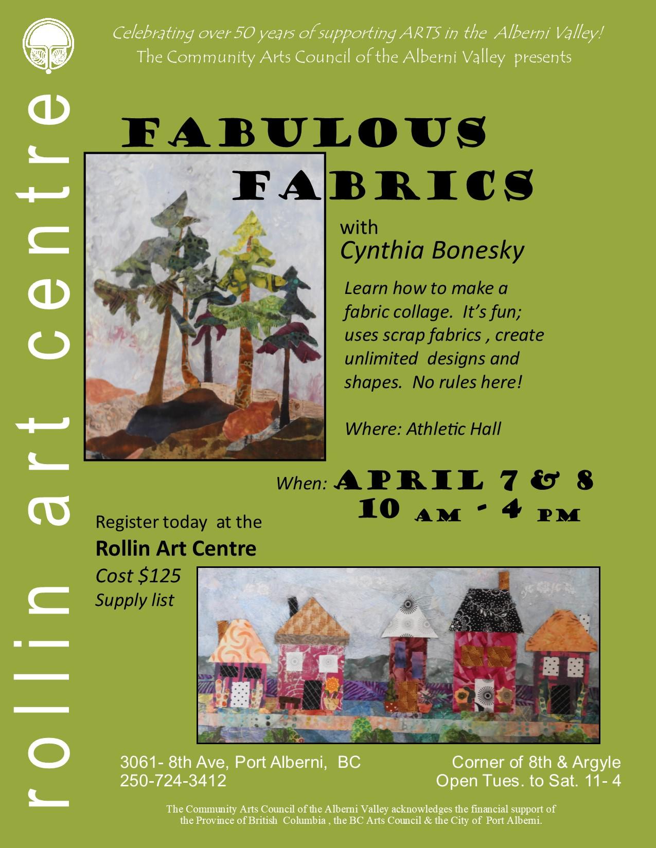 Cynthia Bonesky Fun with Fabrics  Poster 2018.jpg