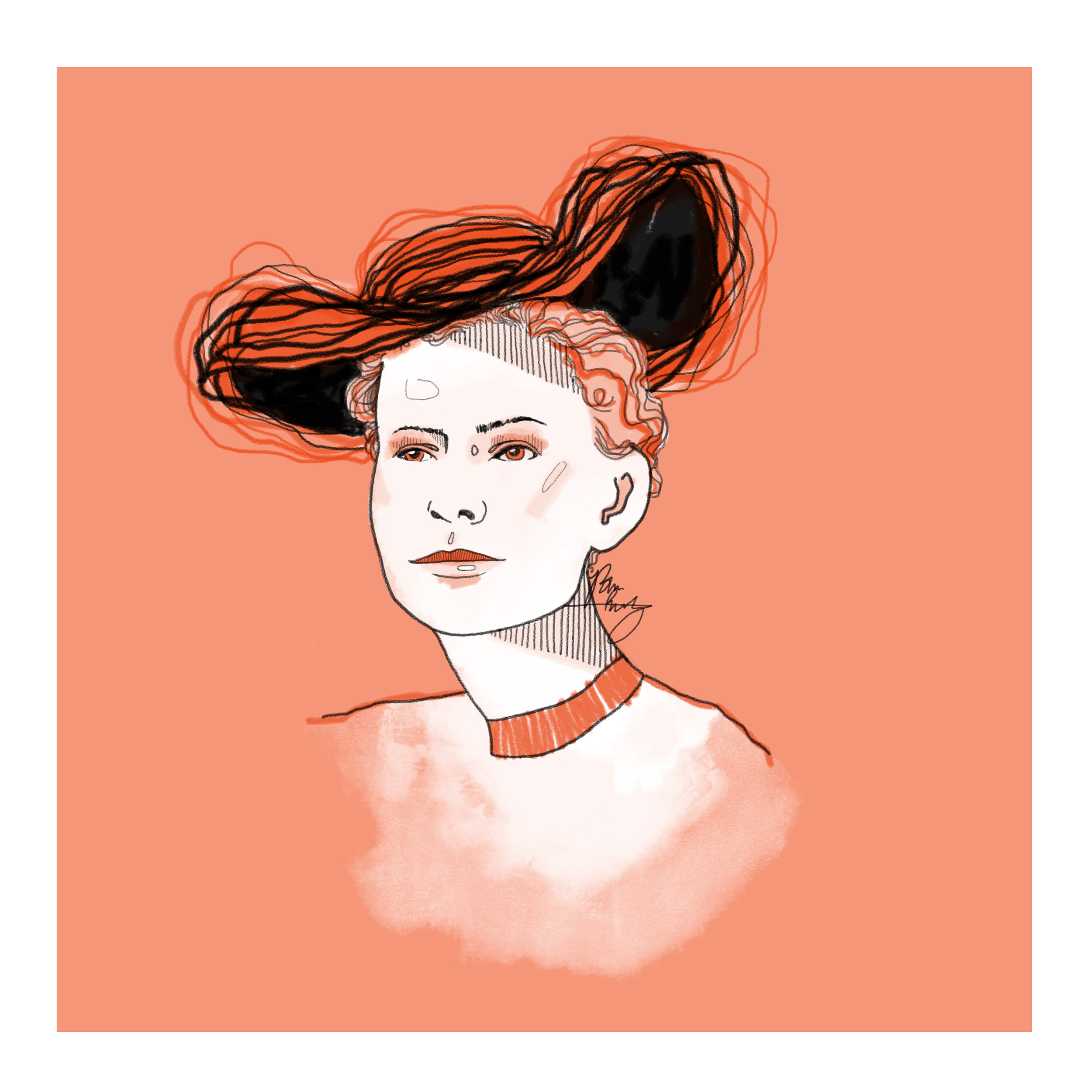 Nettie Stevens Illustration by Bree Reetz