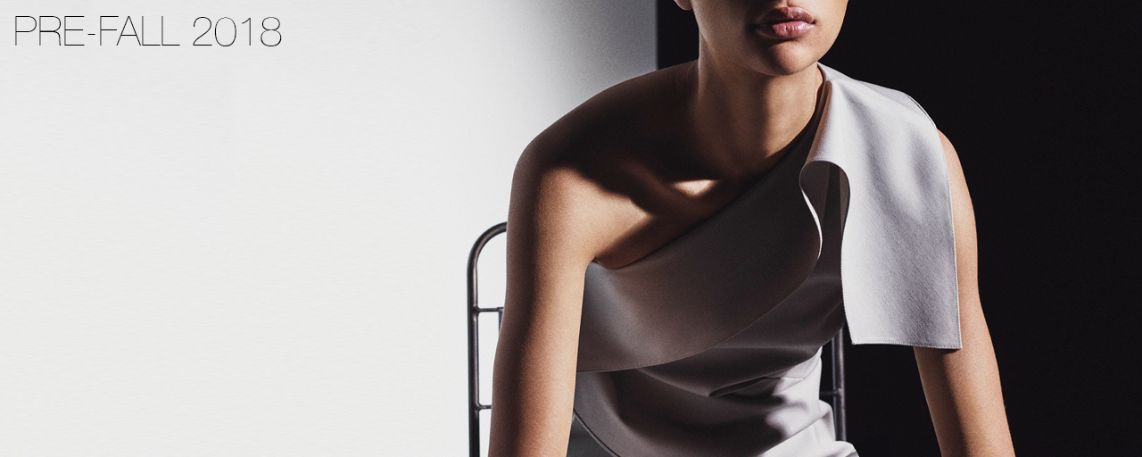 Narciso Rodriguez Pre-Fall 2018 collection.