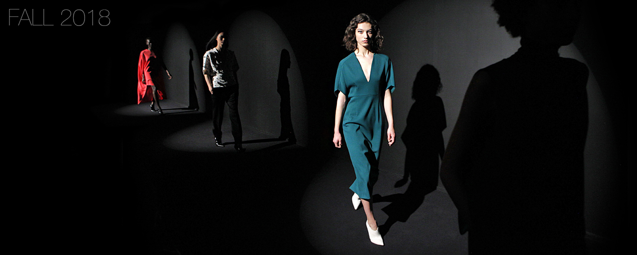 Narciso Rodriguez Fall 2018 collection.