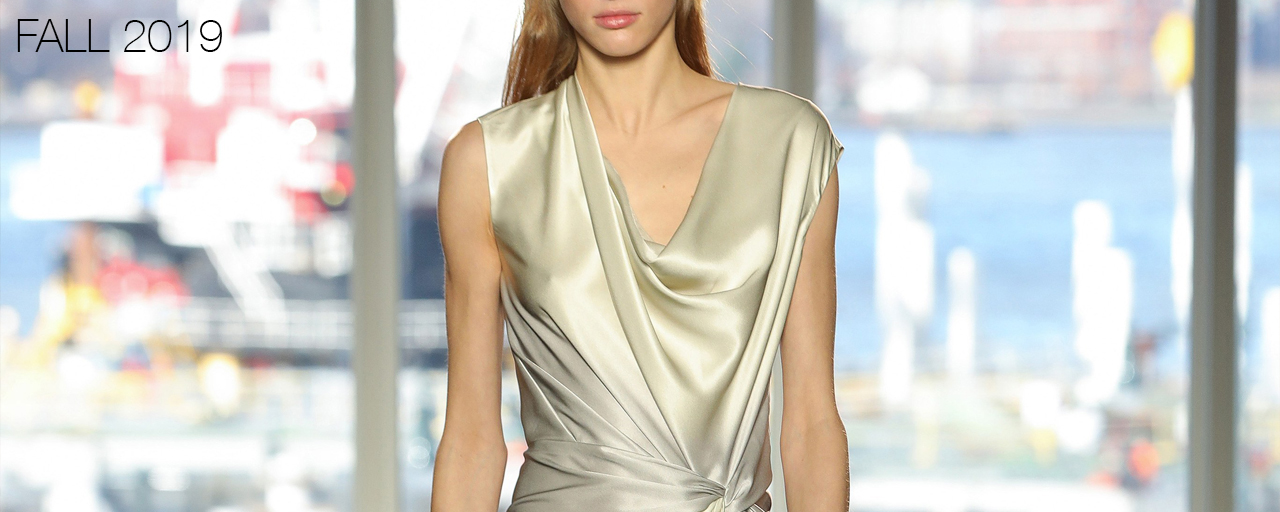 Narciso Rodriguez Fall 2019 collection.